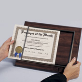 Recognition Plaque - Walnut