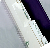 My Favorite Recipes Tab Dividers (5/pk)