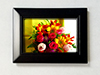 "Classic Wood Collection 4"" x 6"" Photo Frame - Black"