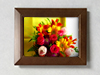"Classic Wood Collection 5"" x 7"" Photo Frame - Mahogany"
